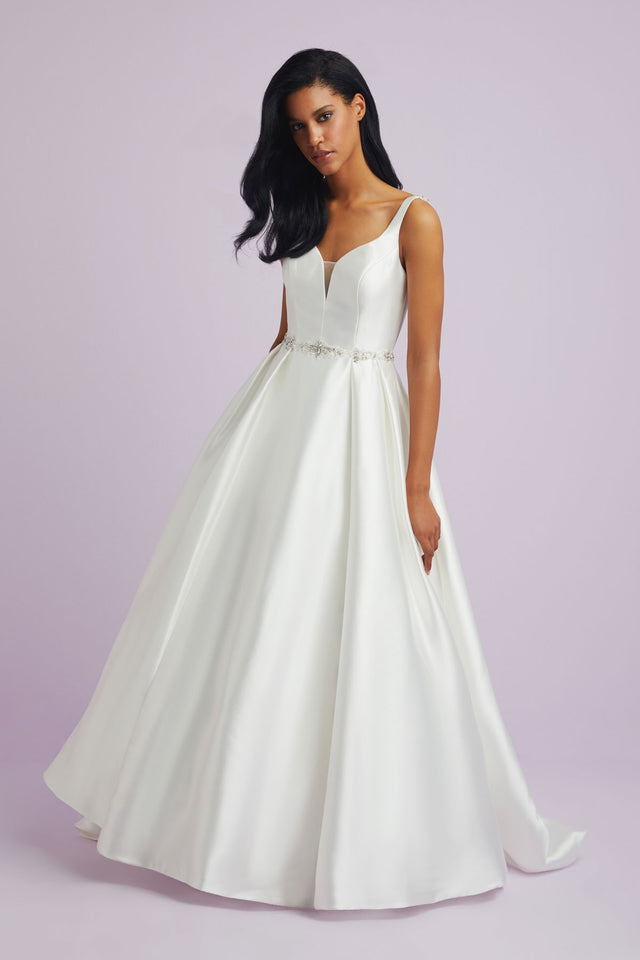 Sweetheart Wedding Dress with Bead Detailing