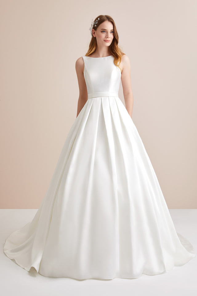 High Neck Ballgown