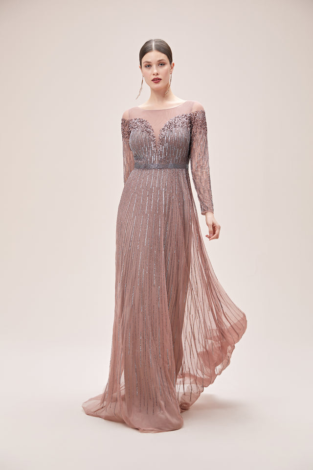 Long Sparkley Formal Gown