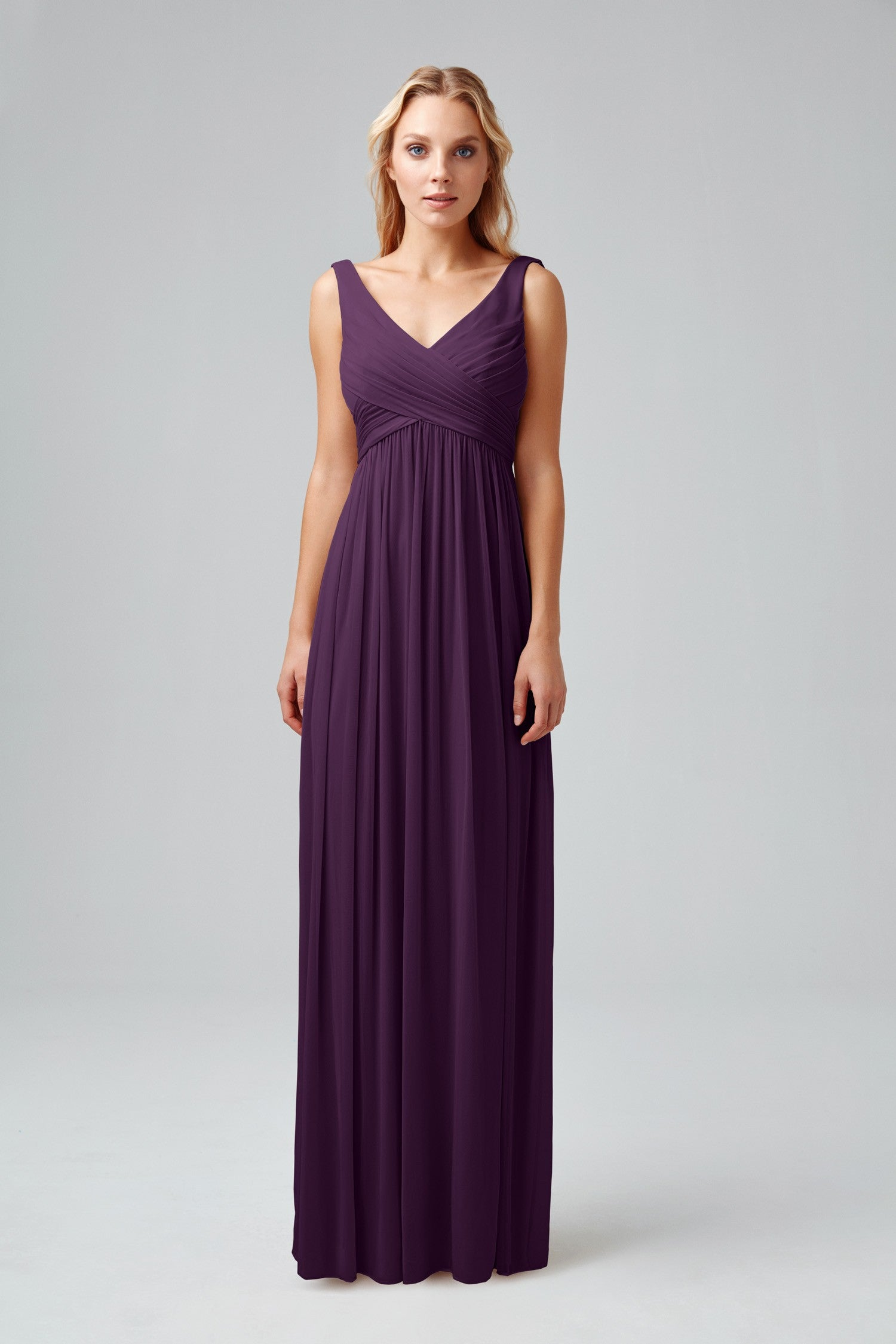 Long Mesh Dress with Cowl Back Detail-F15933