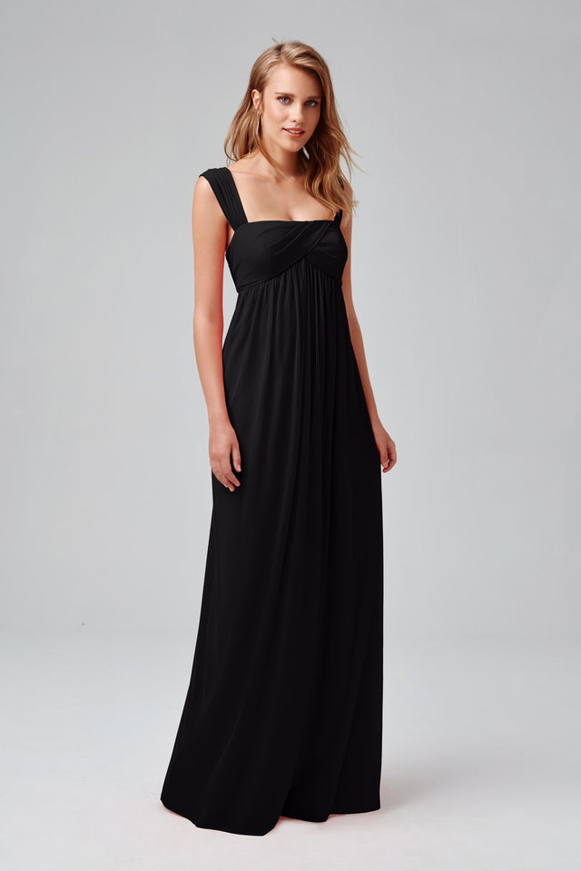 Empire Waist Maternity Dress with Straps