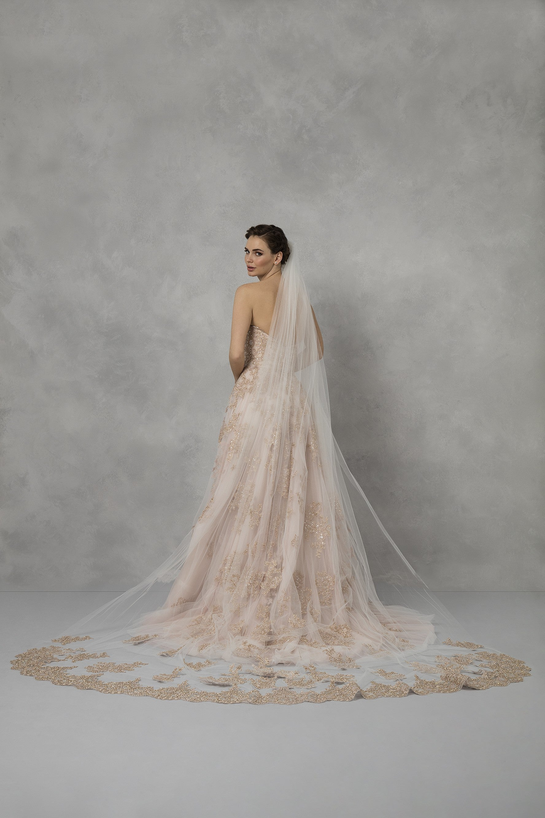 Rose Gold Wedding Dress