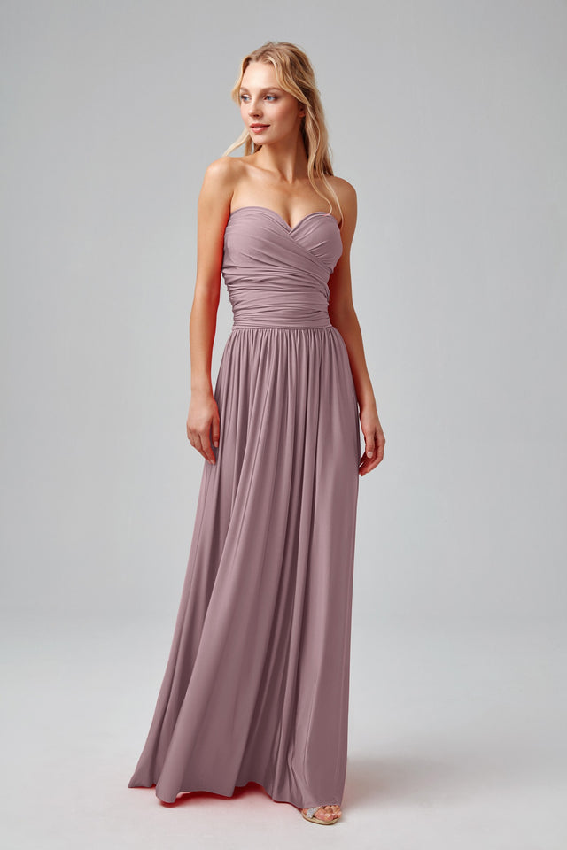 Versa Convertible Long Jersey Dress
