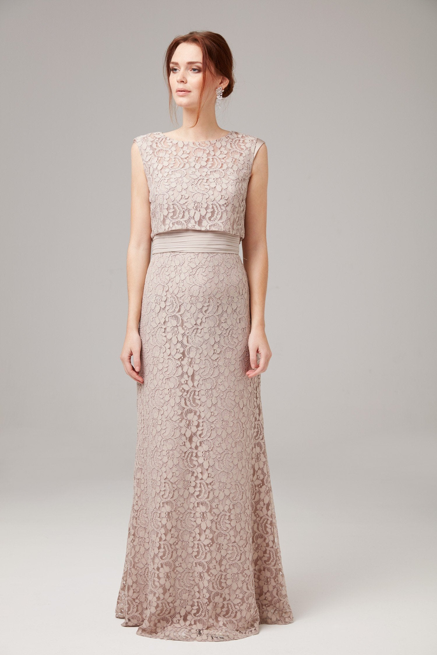 Full Lace Formal Gown-WBM0686