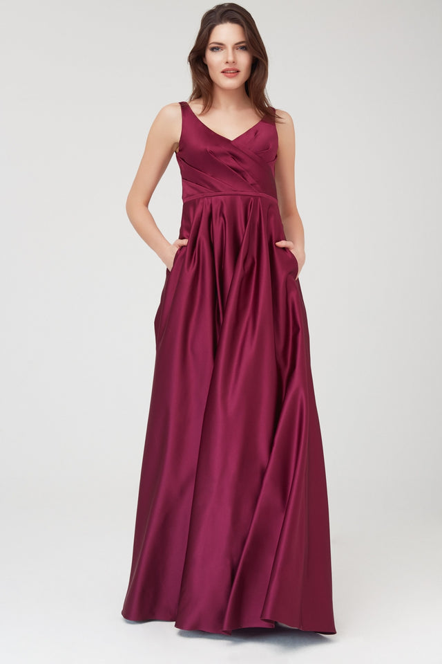 A-line Formal Dress with Pockets