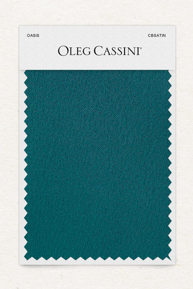 Oasis Crepe-Back Satin Fabric Swatch