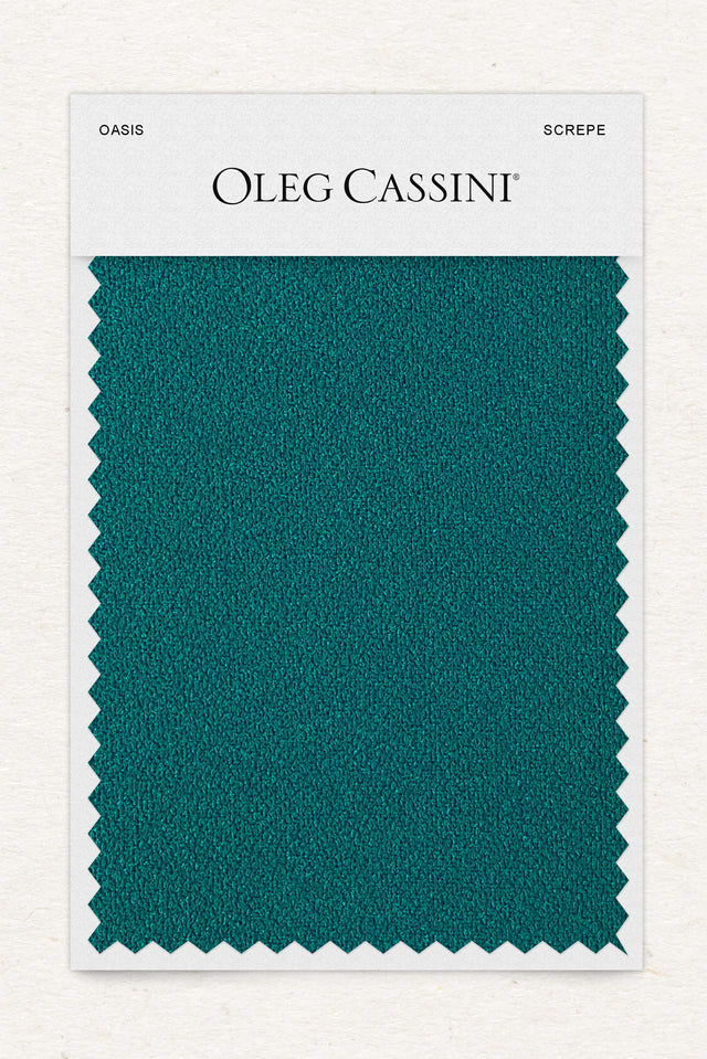 Oasis Stretch Crepe Fabric Swatch