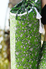 Floral Vines Yoga Mat Bag-Soulfree Yoga