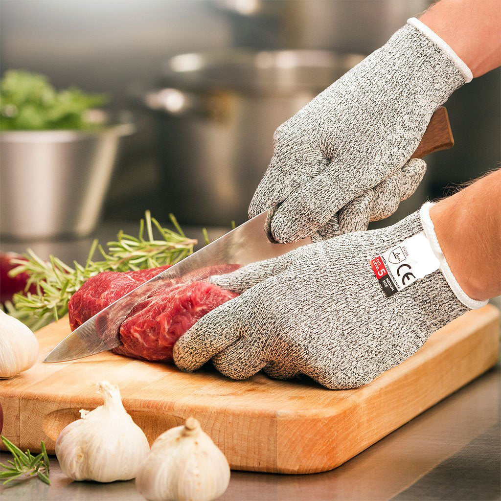 【BUY 2 FREE SHIPPING】75% OFF TODAY- CUT RESISTANT GLOVES-(Factory Outlet)
