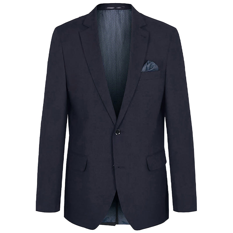 Blaues modisches Business Herren Sakko - Slim Fit Jackett blau