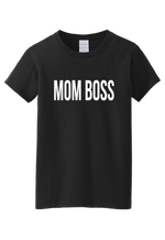 Mom boss t-shirt