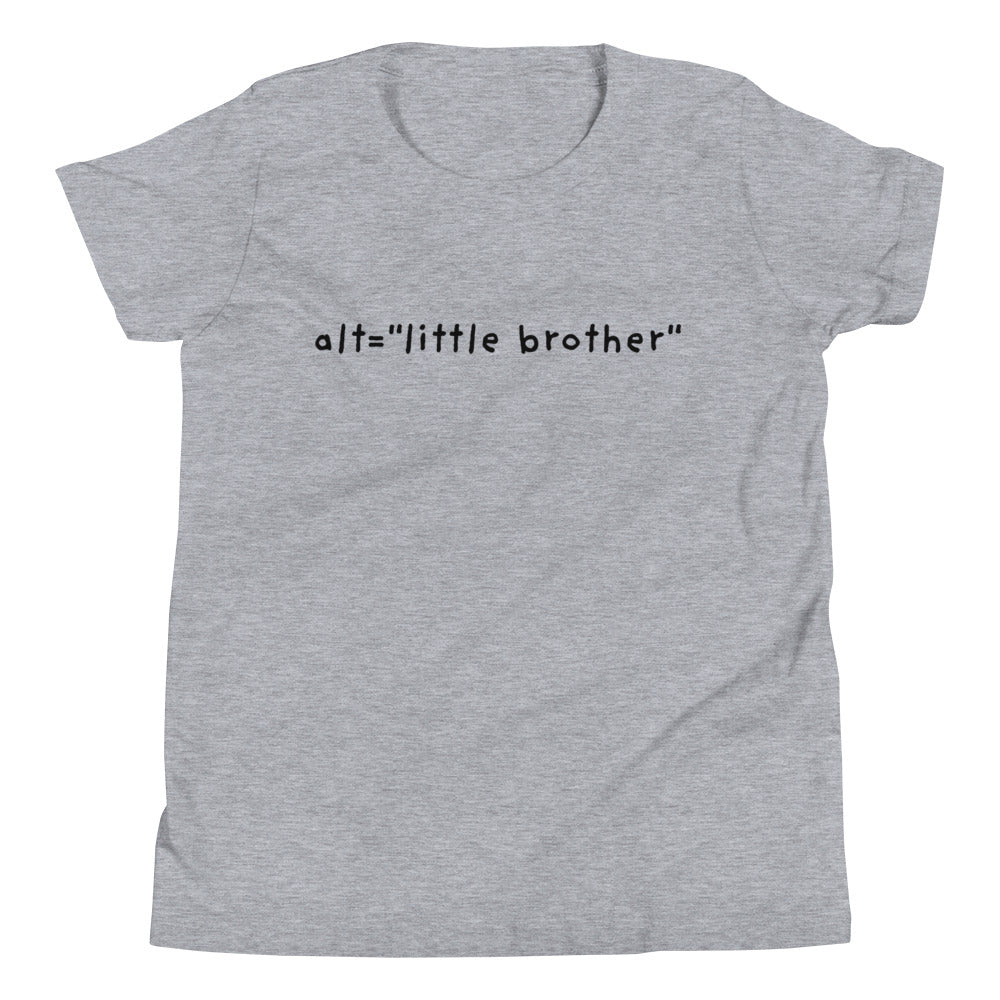 "alt=""little brother"" Youth T-Shirt"