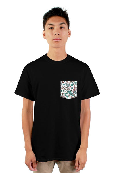 squiggle pocket t-shirt
