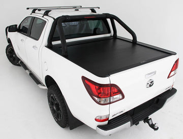Mazda BT-50 (Nov 2011 to August 2020) Dual Cab with Factory Sports Bars Roll R Cover