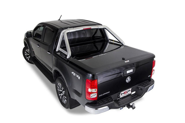 Holden Colorado RG (July 2012 Onwards) Crew Cab with Factory Sports Bars Single Center Lock Premium Hard Lid