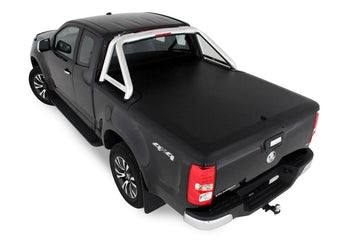 Holden Colorado RG (July 2012 Onwards) Space Cab with Factory Sports Bars Single Center Lock Premium Hard Lid