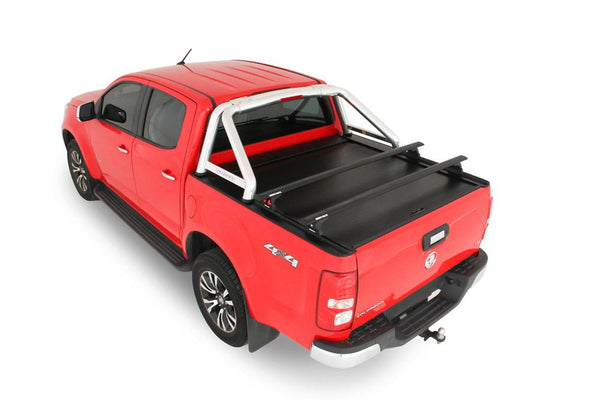 Holden Colorado RG (July 2012 Onwards) Crew Cab with Factory Sports Bars Roll R Cover