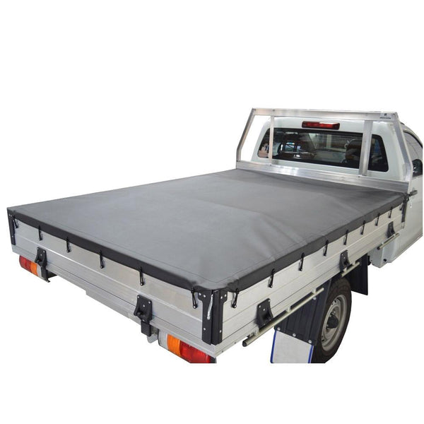 Custom Alloy/Steel Dropside Tray Bunji Tonneau Cover
