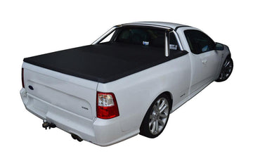 Ford Falcon FG, FGX (June 2008 to Oct 2016) Single Cab with Factory Sports Bars ClipOn Tonneau Cover