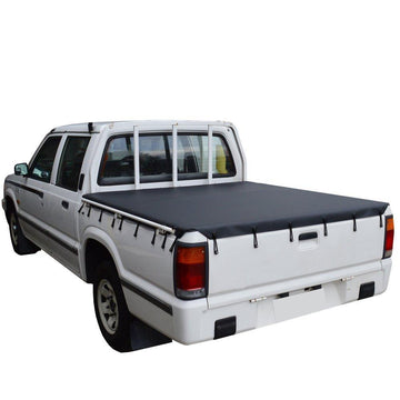 Ford Courier PC, PD (1985 to 1998) Double Cab Bunji Ute/Tonneau Cover