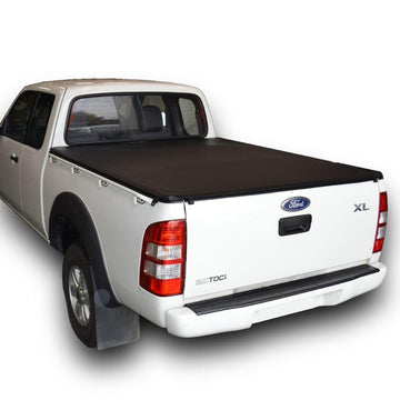 ClipOn Ute/Tonneau Cover for Ford Ranger PJ, PK (2007 to Oct 2011) Super Cab suits Over Rail Tub Liner