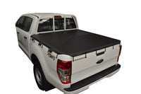 Ford Ranger PX I (Nov 2011 to May 2015) Double Cab with Straight Headboard Bunji Tonneau Cover
