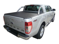 Ford Ranger PX I XLT (Nov 2011 to May 2015) Double Cab with Factory Sports Bars ClipOn Tonneau Cover