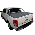 Ford Ranger/Raptor PX II XLT, PX III XLT (June 2015 Onwards) Double Cab with Factory Sports Bars ClipOn Tonneau Cover