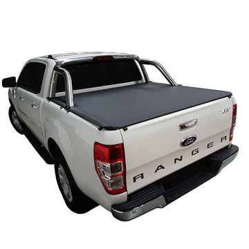 Ford Ranger/Raptor PX II XLT, PX III XLT (June 2015 Onwards) Double Cab with Factory Sports Bars ClipOn Ute/Tonneau Cover