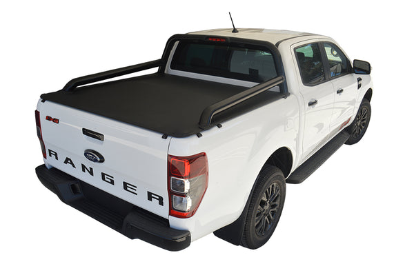 Ford Ranger/Raptor FX4 (2019 Onwards) Double Cab with Factory Extended Sports Bars ClipOn Ute/Tonneau Cover