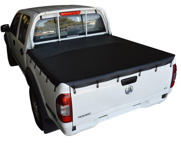 Great Wall V200, V240 (2009 to 2015) Dual Cab with Headboard Bunji Ute/Tonneau Cover