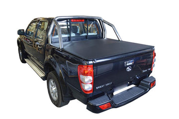 Great Wall V200, V240 (2009 to 2015) Dual Cab with Factory Sports Bars ClipOn Ute/Tonneau Cover