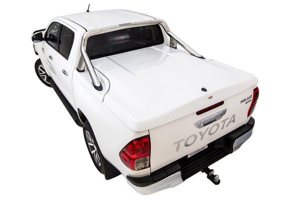 Toyota Hilux SR5 A-Deck (Oct 2015 Onwards) Double Cab with Factory Sports Bars Single Center Lock Premium Hard Lid