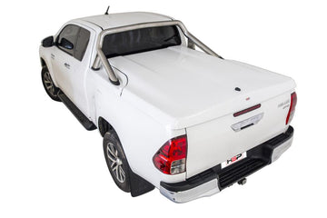 Toyota Hilux SR5 A-Deck (Oct 2015 Onwards) Extra Cab with Factory Sports Bars Single Center Lock Premium Hard Lid