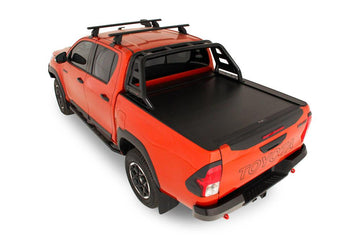 Toyota Hilux Rogue, Rugged, Rugged X (Oct 2015 to Current) Double Cab with Factory Sports Bars Roll R Cover