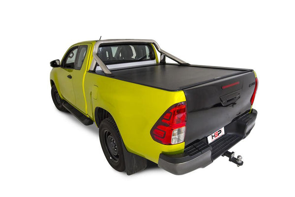 Toyota Hilux SR5 A-Deck (Oct 2015 Onwards) Extra Cab with Factory Sports Bars Roll R Cover