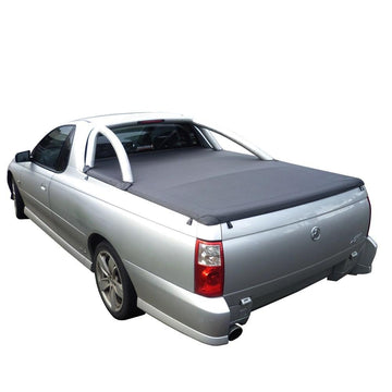 Holden Commodore VU, VY, VZ (2001 to 2007) Single Cab with Factory Sports Bars ClipOn Tonneau Cover