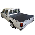 Holden Rodeo TF (1988 to 1996) Crew Cab with Headboard and Grab Rails Bunji Tonneau Cover