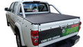 Holden Rodeo/Colorado RA, RC (2003 to June 2012) Crew Cab with Factory Steel Sports Bars ClipOn Tonneau Cover