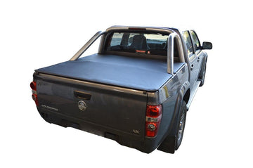 Holden Rodeo/Colorado RA, RC (2003 to June 2012) Crew Cab with Factory Alloy Sports Bars ClipOn Ute/Tonneau Cover