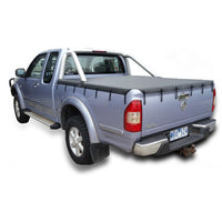 Holden Rodeo/Colorado RA, RC (2003 to June 2012) Space Cab with Factory Sports Bars Bunji Tonneau Cover