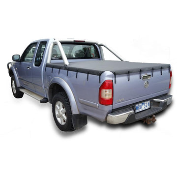 Bunji Ute/Tonneau Cover for Holden Rodeo/Colorado RA, RC (2003 to June 2012) Space Cab suits Factory Sports Bars