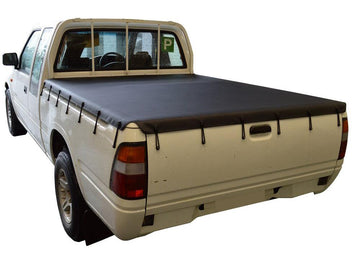 Bunji Ute/Tonneau Cover for Holden Rodeo/Colorado RA, RC (2003 to June 2012) Space Cab suits Headboard
