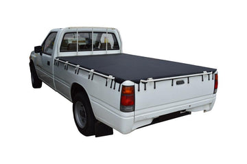 Holden Rodeo TF (1988 to 1996) Single Cab with Grab Rails Bunji Tonneau Cover