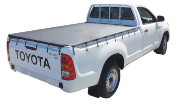 Holden Rodeo/Colorado RA, RC (2003 to June 2012) Single Cab with Headboard Bunji Tonneau Cover