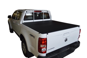 Holden Colorado RG (July 2012 Onwards) Crew Cab with Headboard ClipOn Tonneau Cover