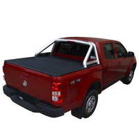 Holden Colorado RG LTZ (July 2012 Onwards) Crew Cab with Factory Sports Bars ClipOn Tonneau Cover
