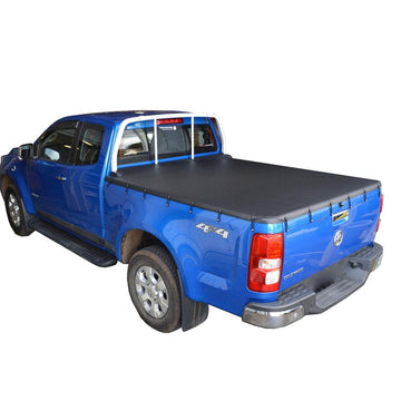 Bunji Ute/Tonneau Cover for Holden Colorado RG (July 2012 Onwards) Space Cab suits Headboard