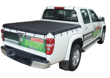Bunji Ute/Tonneau Cover for Isuzu D-Max (2003 to June 2012) Crew Cab