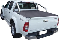 Isuzu D-Max (2003 to June 2012) Crew Cab with Factory Sports Bars ClipOn Tonneau Cover